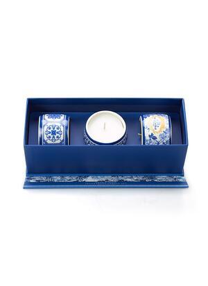 Set lumanari parfumate Gold&Blue